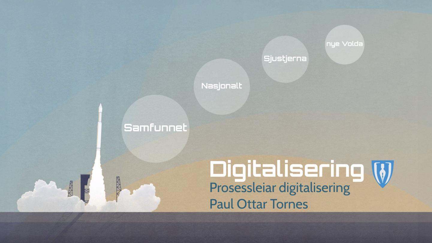 Digitaliseringsstrategi – Fellesnemnda nye Volda kommune